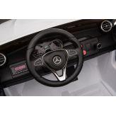 ΜΙΚΟ Ηλεκτροκίνητο Mercedes Benz Original Lisensed 12V, GLC 63S Διθέσιο με τηλεχειριστήριο σε άσπρο BJ608