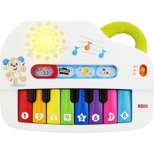 Fisher Price Laugh & Learn Εκπαιδευτικό Πιάνο Με Φώτα, GFV21