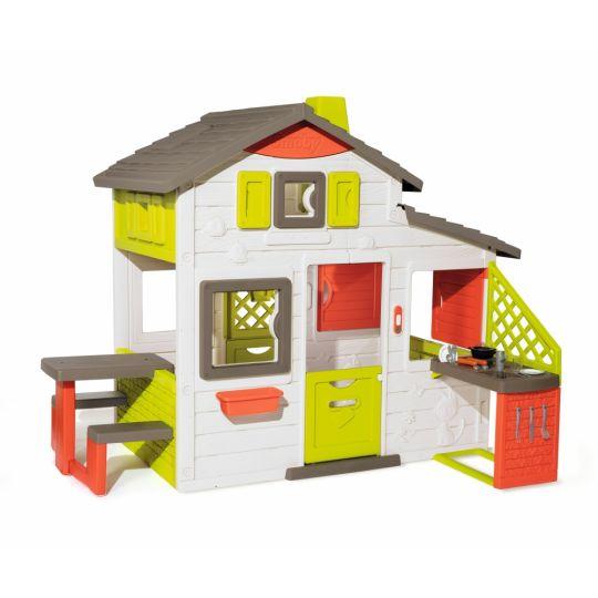 Σπίτι κήπου, Smoby Παιδικό Σπιτάκι Neo Friends House & Kitchen 810202