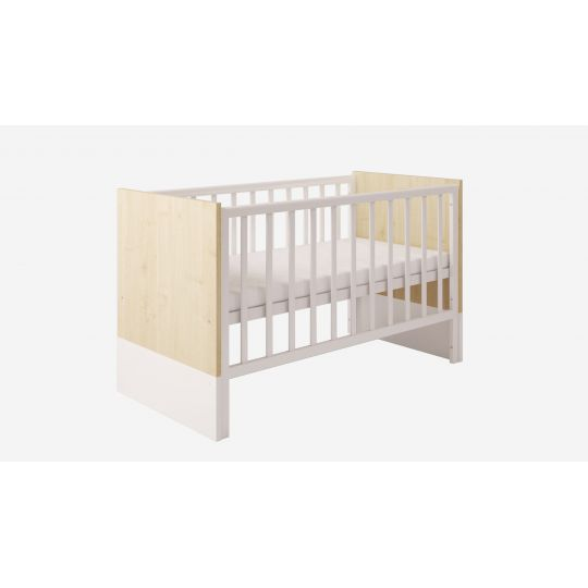 Προεφηβικό Κρεβάτι Polini Kids, Classic 140X70 Natural
