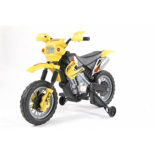 MIKO Ηλεκτροκίνητη NEW ENDURO 6V, JT014 κίτρινη