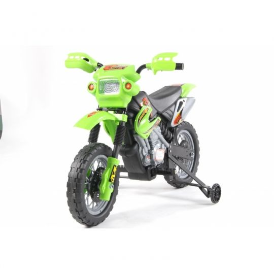 MIKO Ηλεκτροκίνητη NEW ENDURO 6V, JT014 πράσινη