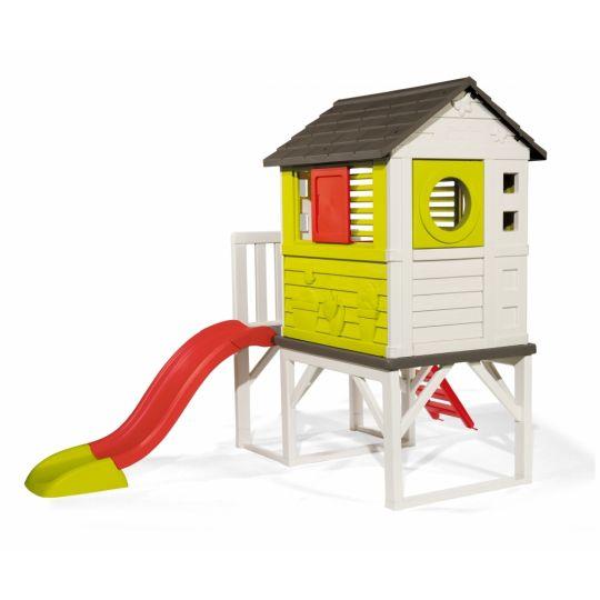 Σπίτι κήπου, Smoby Σπίτι με τσουλήθρα 810800