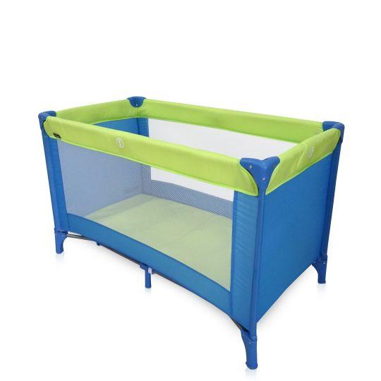 Παρκοκρέβατο MIKO P618-1, Blue & Green
