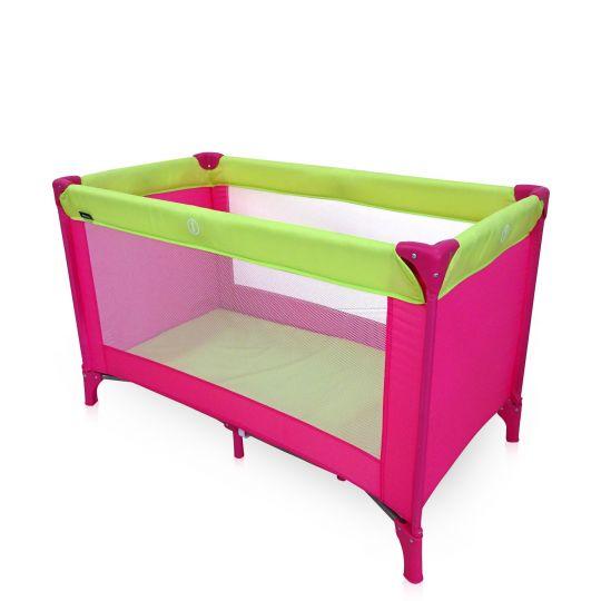 Παρκοκρέβατο MIKO P618-2, Pink & Green
